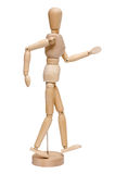Wooden lay figure Stock Photography
