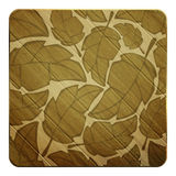 Wooden leafs Stock Photography