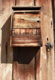 Wooden letter box Royalty Free Stock Photos