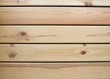 Wooden light  background. Top view. Vintage board Stock Photo