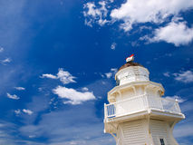 Wooden lighthouse Royalty Free Stock Photos