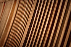 Wooden lines Stock Photography