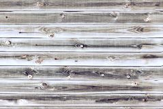 Wooden lining boards wall. light brown oak wood texture. background old panels, Seamless pattern. Horizontal planks.  Royalty Free Stock Photo