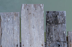 Wooden local port texture. Old wooden texture Stock Photos