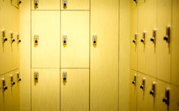 Wooden locker Stock Photos