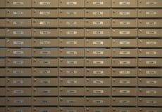 Wooden locker Stock Photos