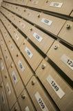 Wooden locker Royalty Free Stock Photography