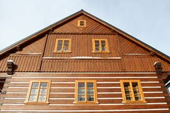 Wooden lodge Royalty Free Stock Photography