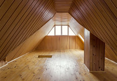 Wooden loft Royalty Free Stock Photography