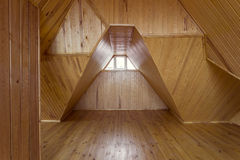 Wooden loft Stock Photo