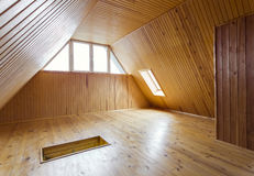 Wooden loft Royalty Free Stock Images