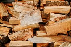 Wooden log Royalty Free Stock Images