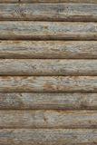 Wooden Log Cabin Old Wall Natural Colored Vertical Background Te Royalty Free Stock Images