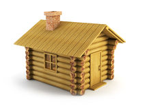 Wooden log-house Royalty Free Stock Photos