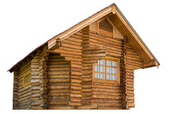 Wooden log house Royalty Free Stock Photo