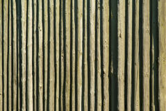 Wooden Log Pallisade Background pattern Stock Photos