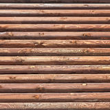 Wooden Logs Background Stock Image