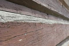 Old wall made of timber Royalty Free Stock Image