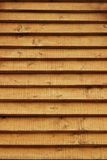 Wooden logs wall of rural house background Royalty Free Stock Photo
