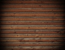 Wooden logs wall Royalty Free Stock Photography