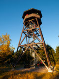 Wooden lookout tower Stock Photos