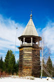 Wooden lookout tower Stock Image