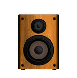 Wooden Loud Speaker Royalty Free Stock Photography