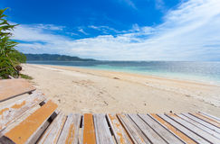 Lonely beach Stock Photos