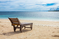 Lonely beach Royalty Free Stock Photography