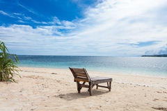 Lonely beach Stock Photos