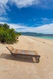 Lonely beach Stock Image