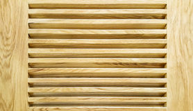 The wooden louver background Royalty Free Stock Images