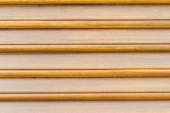 Wooden louvers background texture. wood blinds.  Royalty Free Stock Image