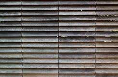 Wooden louvre facade Stock Photos