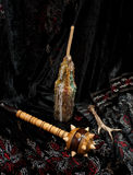 Wooden mace Royalty Free Stock Photos