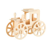 The wooden machine Stock Image