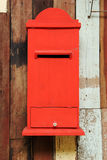 Wooden mail box Royalty Free Stock Photo
