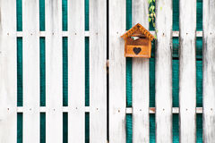 Wooden Mailbox for get mail Royalty Free Stock Photo