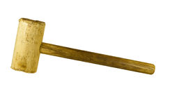 Wooden mallet Royalty Free Stock Photography