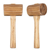 Wooden mallet Royalty Free Stock Image