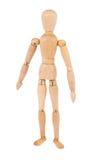Wooden man Stock Image