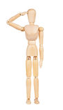 Wooden man Stock Photography
