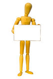 Wooden Man Stock Images
