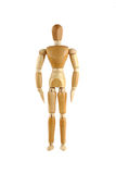 Wooden manikin Stock Photography