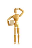 Wooden manikin Royalty Free Stock Photo
