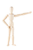 Wooden mannequin Stock Photos