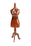 Wooden mannequin. On white background Royalty Free Stock Photos