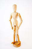 Wooden mannequin royalty free stock photography
