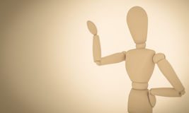 Wooden Mannequin Stock Images
