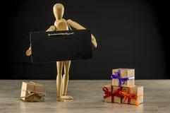 Holiday or Gifting season concept royalty free stock photos
